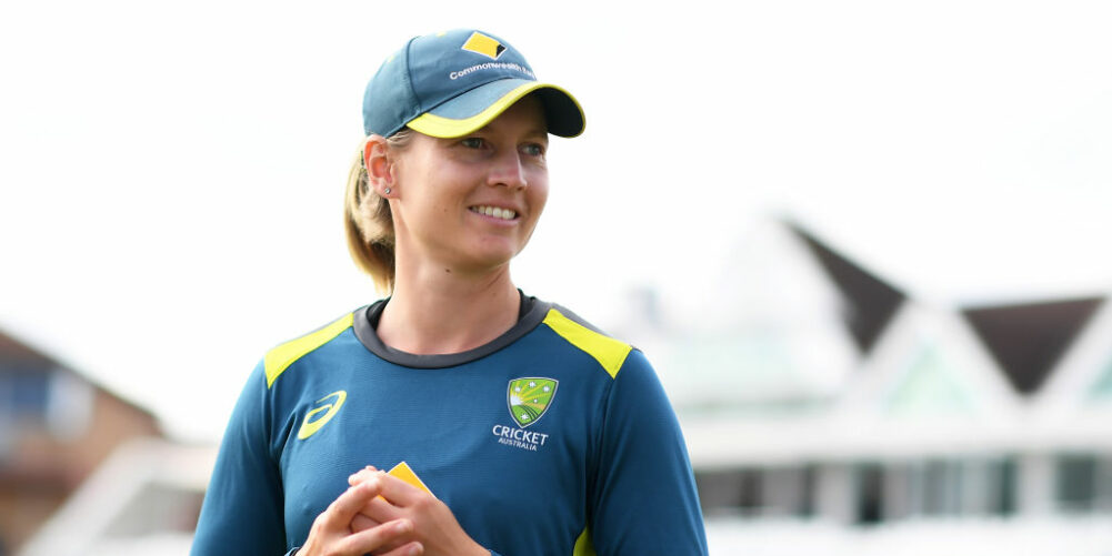 Meg Lanning, Australia Captain in training kit