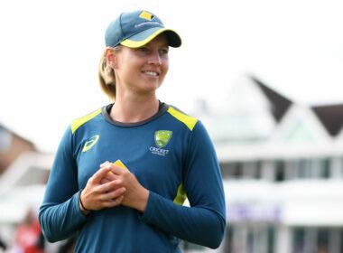 Meg Lanning, Australia Captain in training kit