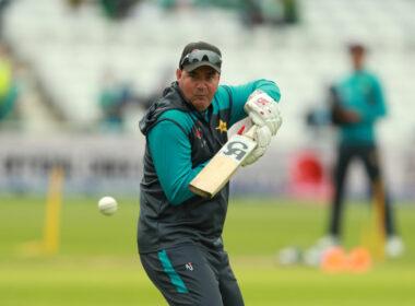 Mickey Arthur, Pakistan Coach, during training
