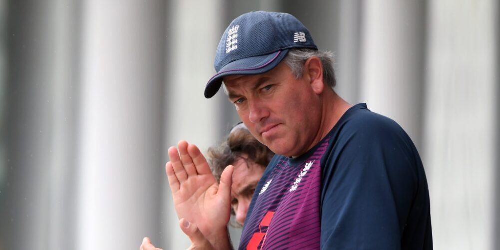 England head coach Chris Silverwood