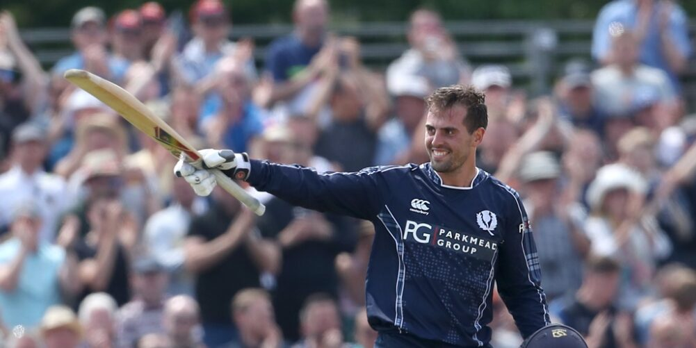 Scotland batsman Calum MacLeod