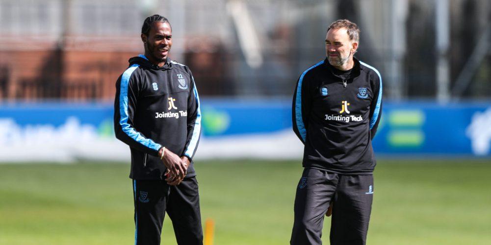 England & Sussex bowler Jofra Archer