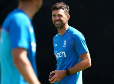 England bowler Jimmy Anderson