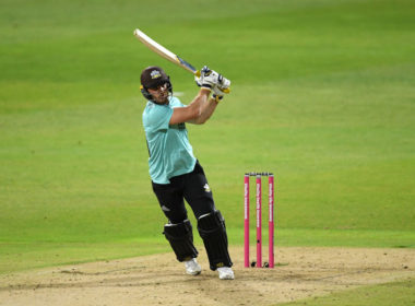Surrey batsman Laurie Evans